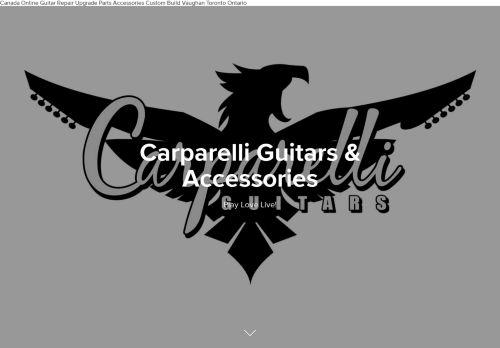 carparelliguitars.com