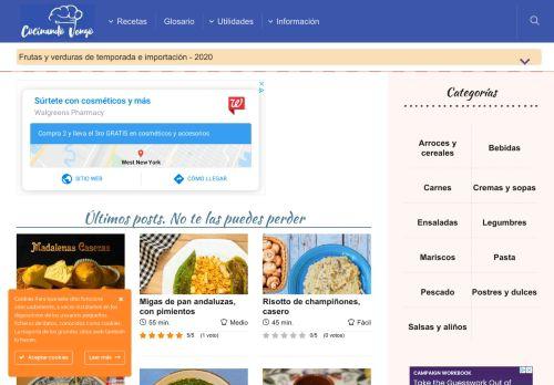 cocinandovengo.com
