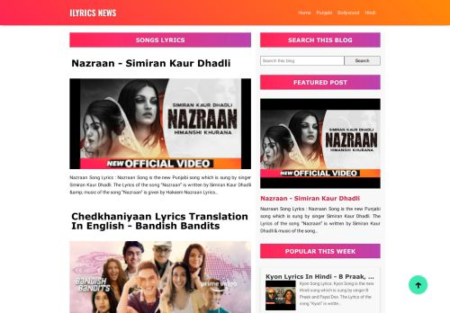 ilyricsnews.blogspot.com
