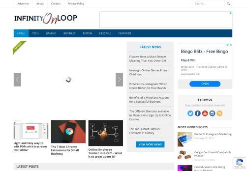 infinityonloop.com