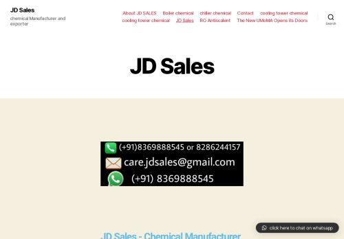 jdsaleschemical.com