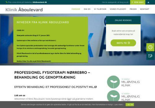 klinikaaboulevard.dk