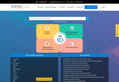 koenig-solutions.com