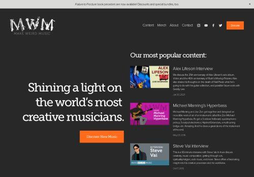 makeweirdmusic.com