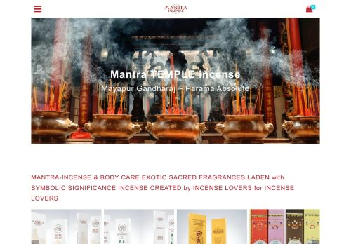 mantra-incense.com