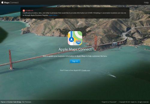 mapsconnect.apple.com