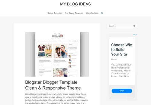 myblogideas.com