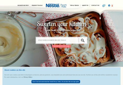 nestledessertsarabia.com
