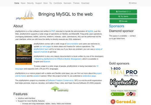 phpmyadmin.net