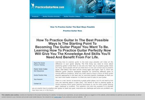 practiceguitarnow.com