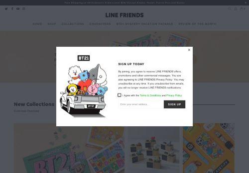 store.linefriends.com