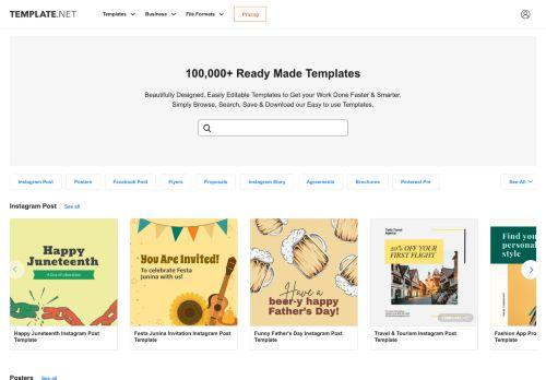 template.net