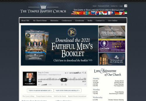 templebaptistchurch.com