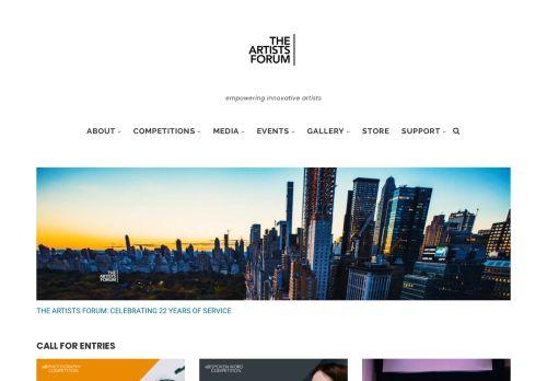 theartistsforum.org