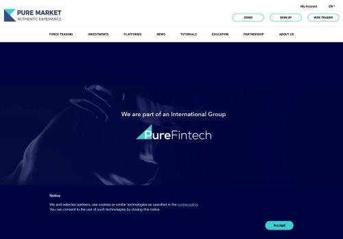 puremarketbroker.com